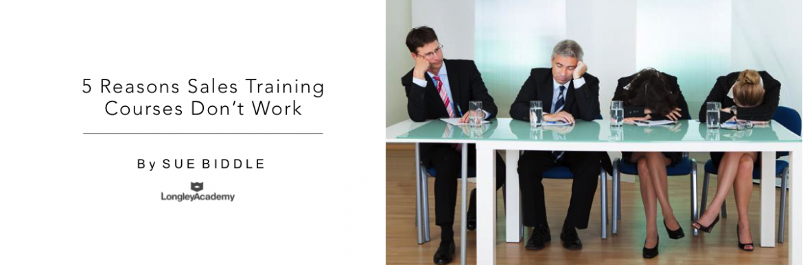 5 Reasons Sales Training Courses Dont Work
