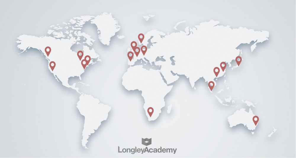 Sales Training Locations Worldwide | Longley Academy