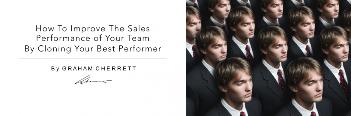 Sales Performance   Cloning your best performer