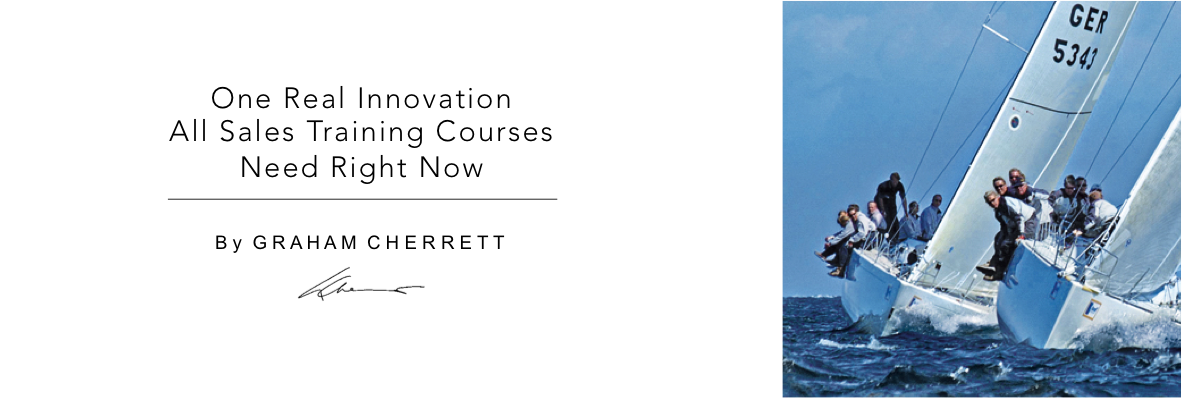 The One Real Innovation Sales Training Courses Need Right Now