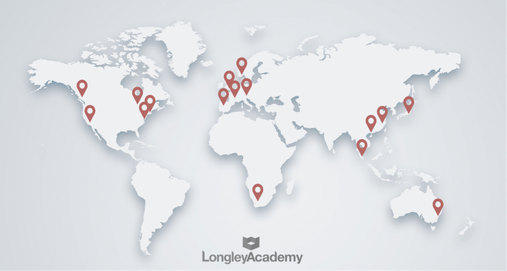 Longley Sales Academy - Sales Training Locations