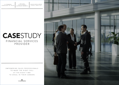 Sales Success Case Study Financial Services Provider - Longley Sales Academy