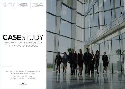 Sales Success Case Study Information Technology - Longley Sales Academy